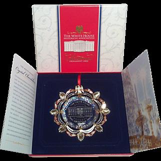 2002 White House Ornament ~ East Room