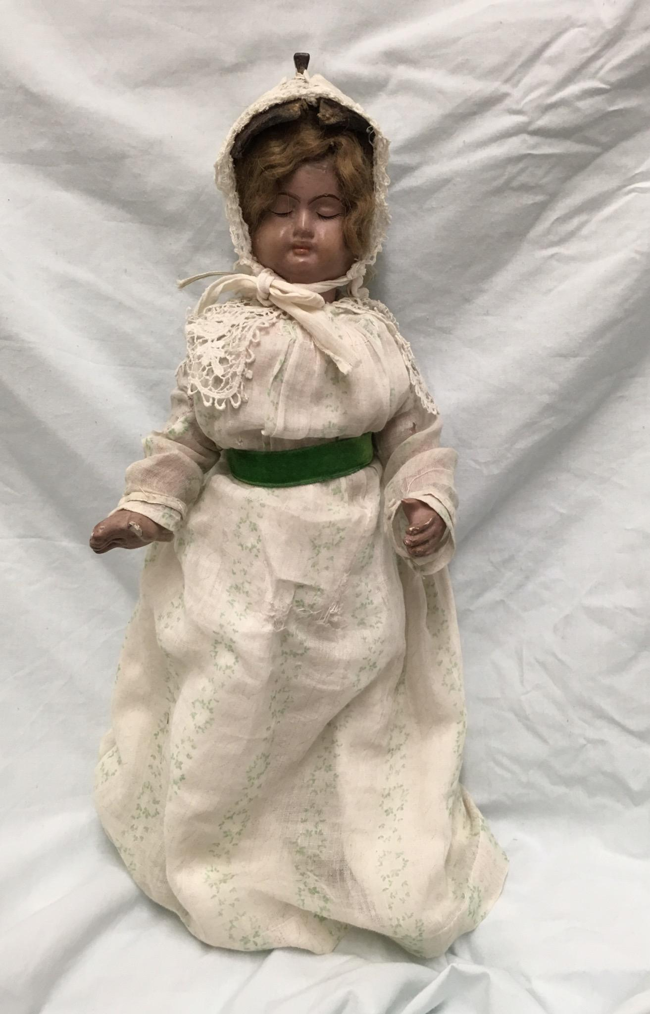 Three Faced  Antique Composition Doll