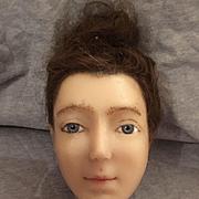Beautiful Wax Head of A Lady
