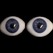 Antique paperweight medium glass eyes.