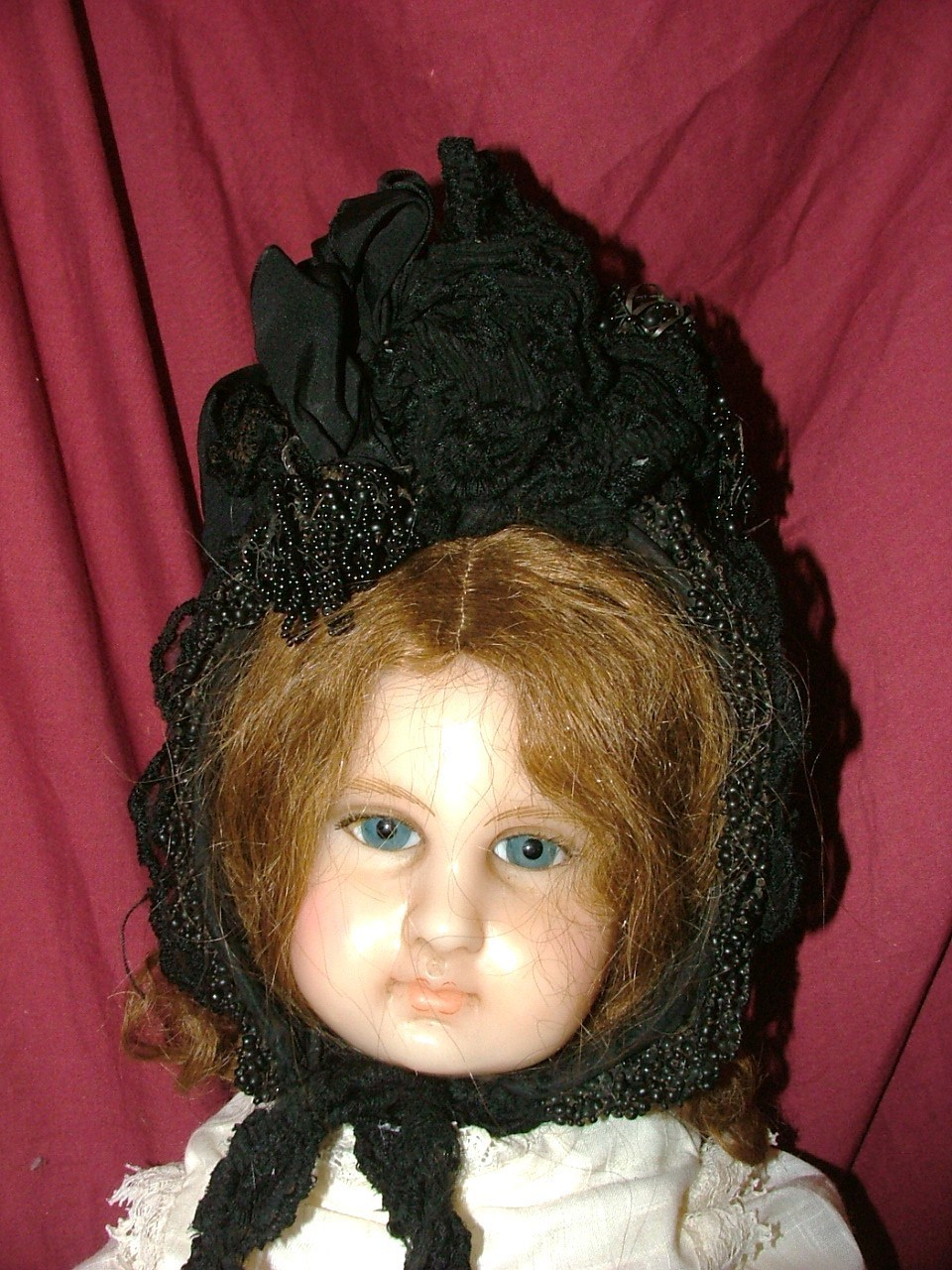 Antique black hat