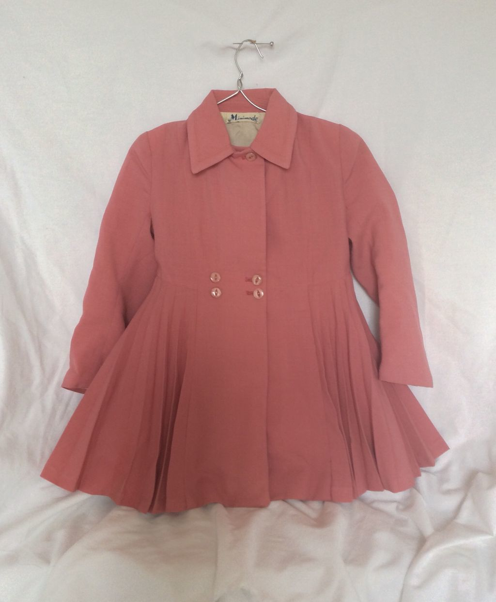 Minimode tailor made! Child's coat 1950's 60's