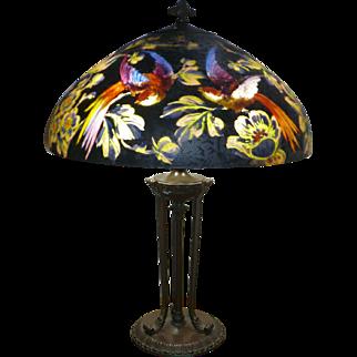 Handel # 7026 Bird of Paradise lamp