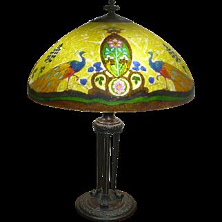 Handel peacock lamp # 7088 Palme
