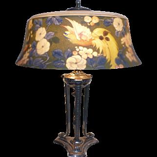 Pairpoint Bird of Paradise lamp
