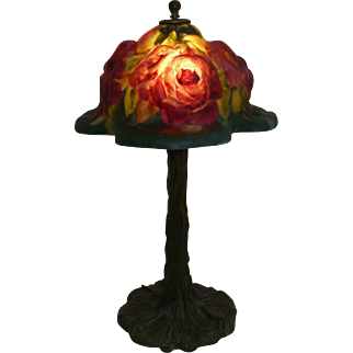 Pairpoint Rose Tree Lamp
