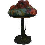 Pairpoint red poppy on tree base