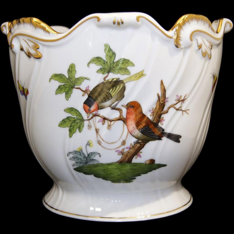 Herend Porcelain Hand Painted BirdsAesthetic Design Cache