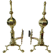 Andirons late 19th Century