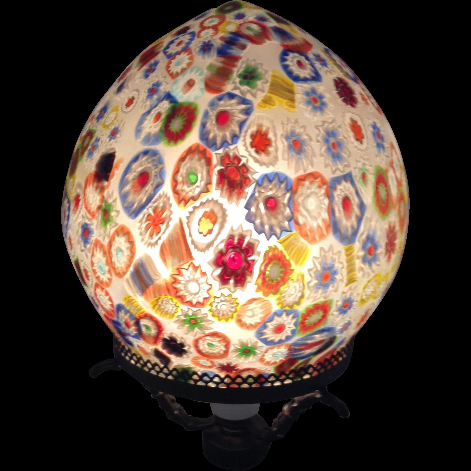 Italian Milliflori Lamp