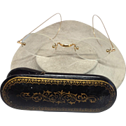 19th Century Gold Eye Glasses and Case