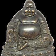 Bronze Chinese Buddah