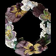 Fabulous French Bead Work Wreath