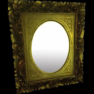 Hand Carved Italian Mirror