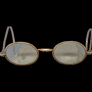 Great Antique 14K Eye Glasses