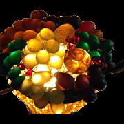 Deco Czech Fruit Lamp Basket