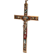 Grand Tour Italian Mosaic Cross