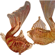 Pair of Murano Fish