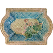 Beautiful Victorian Majolica Tray