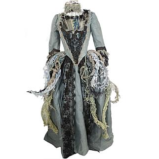 Vintage Stage Theatre Opera Costume Dress Corset