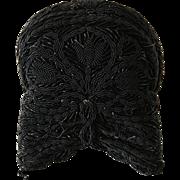 19th. Century Very Rare German Folkloric Bonnet/Hat in Original Box