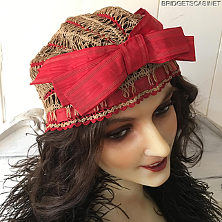 19th. Century Rare French Hat Bonnet
