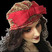 19th. Century Rare French Hat Bonnet