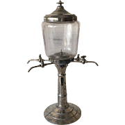 Antique 19th Century French Absinthe Fountain Bar Belle Epoque