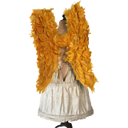 1920's French Golden Procession Angel Wings