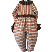 Vintage 1950's Harlequin or clown Costume Theater Show Circus