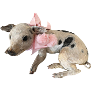 1930/40's Very Rare Enchanting  Mini Piglet
