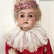 1890 28'' German Kammer & Reinhardt Pierrot Porcelain Doll Toy