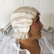 1920'S ART DECO FLAPPER HAT HAIR CLOCHE PARIS EVENING WIG BOUDOIR BUST MANNEQUIN