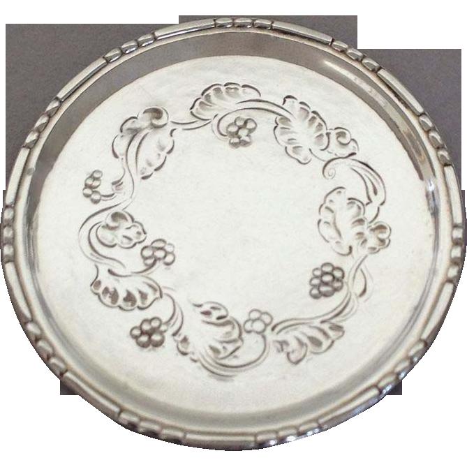 Georg Jensen Sterling Silver Butter Pats No. 51A