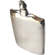 Georg Jensen Sterling Silver Flask No. 603 by Harald Nielsen