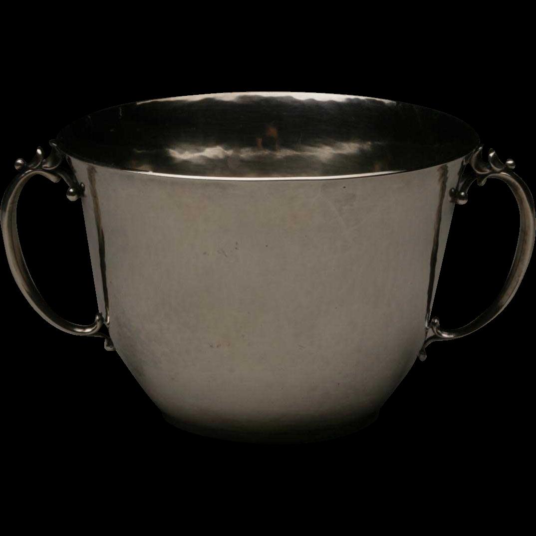 Georg Jensen Sterling Silver Open Sugar Bowl No. 456B by Harald Nielsen