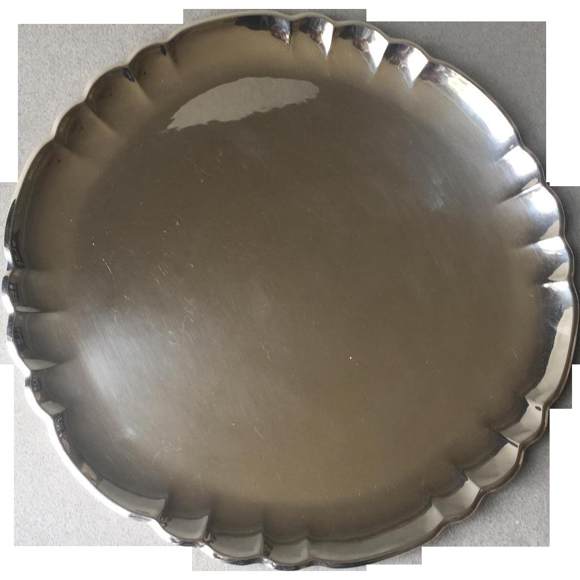 Georg Jensen Sterling Silver Tray No. 519C