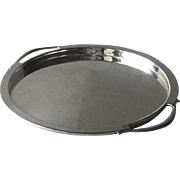Georg Jensen Sterling Silver Small Tray No. 640 by Harald Nielsen