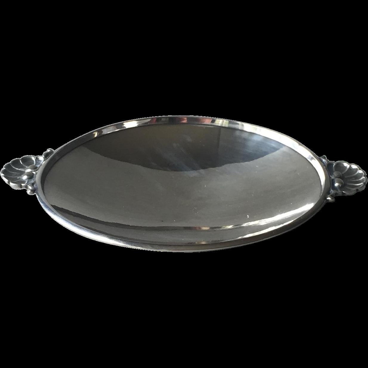 Georg Jensen Sterling Silver Dish No. 355D by Gundorph Albertus