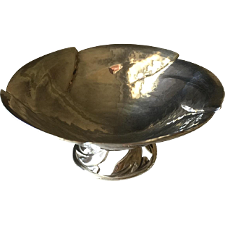 Peer Smed Sterling Silver Footed Dish