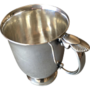 "Georg Jensen Sterling Silver ""Cactus"" Baby Cup No. 777A by Gundorph Albertus"
