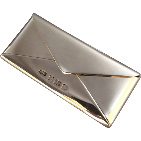 Sterling Silver Card Case by Philip Kydd