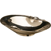 Georg Jensen Sterling Silver Blossom Oval Dish, No. 2A