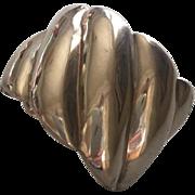 Margot de Taxco Sterling Silver Modernist Cuff