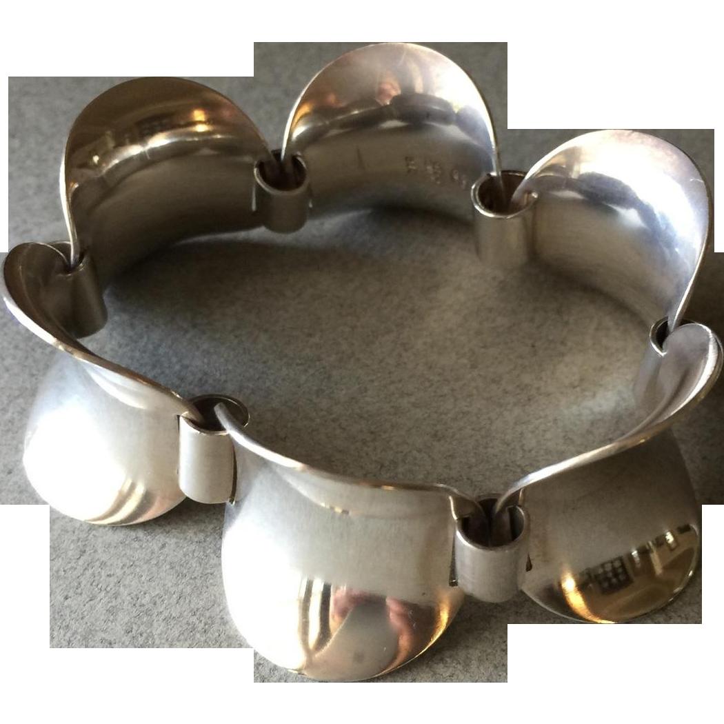 Georg Jensen Sterling Silver Bracelet No. 210 by Steffen Andersen