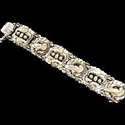 Georg Jensen Sterling Silver Dove Bracelet No. 32 by Kristian Mohl-Hansen