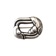 Georg Jensen Sterling Silver Small Brooch No. 32