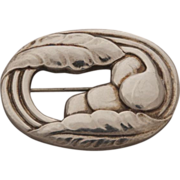 Georg Jensen Sterling Silver Brooch No. 18