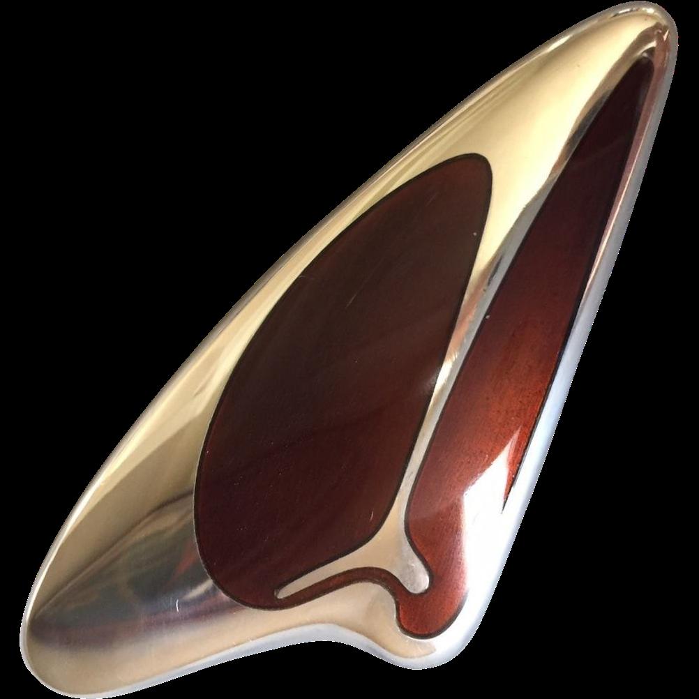 Georg Jensen Sterling Silver Brooch No. 314 by Henning Koppel