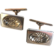Georg Jensen Sterling Silver Cufflinks No. 59A by Henry Pilstrup
